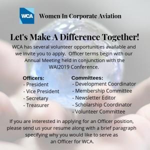 Volunteer Opportunities Available