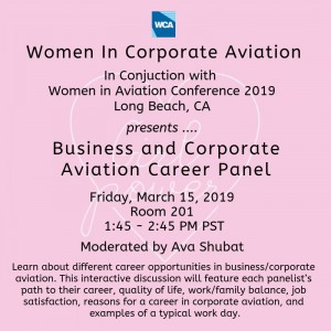 Business and Corporate Aviation Career Panel