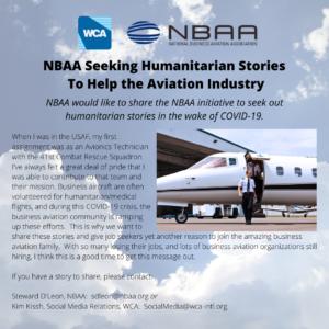 NBAA Seeking To Help The Aviation Industry